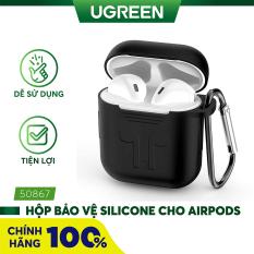 [Nhập ELMAY21 giảm thêm 10% đơn từ 99k] Hộp Bảo Vệ Silicone Cho Airpods Ugreen 50867 – Hãng phân phối chính thức