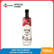 Nước trái cây đậm đặc lên men tự nhiên Micho lựu CJ Foods 900ml
