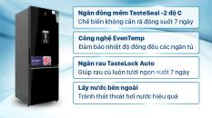 [Trả góp 0%]Tủ lạnh Electrolux Inverter 308 lít EBB3442K-H Mới 2021, ngăn đồng mềm, lấy nước ngoài (CHỈ GIAO HÀ NỘI)