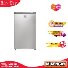 [Nhập ELMAY21 giảm 10% tối đa 200k đơn từ 99k]Tủ lạnh mini Electrolux EUM0900SA 90L khay kính chịu lực đén sợi tóc bảo hành 2 năm Chính hãng tại nhà