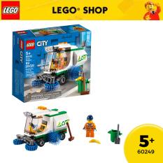 LEGO CITY 60249 Xe Quét Đường ( 89 Chi tiết)