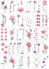 BỘ 30 Tờ Hình Xăm Dán Tattoo Xăm Nước Tha Thu Từ 55 – 120 hình tùy mẫu