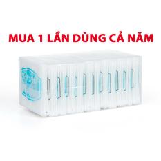 Tăm bông ngoáy tai – Bông vệ sinh tai mũi trẻ em Softtana BZ8 làm sạch các chất ẩm, chất bẩn bên trong tai, mũi – Lố 12 túi ( 80 que /túi ) – Guty Care