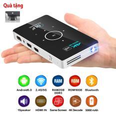 Siêu phẩm máy chiếu mini thông minh 4K thương hiệu TEXAS C6 chính hãng của Mỹ siêu sáng siêu sắt nét