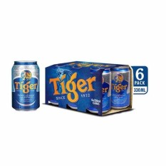 LỐC 6 LON TIGER 330ML