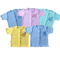 Combo 5 Áo Cộc Tay Thái Hà Thịnh 100% cotton ( 4 màu )