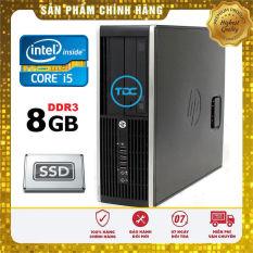 Thùng cây máy tính để bàn HP 6300 PRO core i5 3470, ram 8GB, SSD 240GB. Hàng Nập Khẩu, Bảo hành 24 tháng
