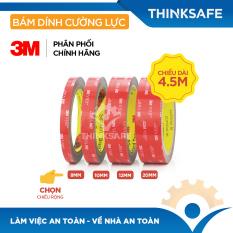 Băng keo 2 mặt siêu dính 3M – Băng dính 2 mặt VHB 5952 bám dính cường lực, Băng dính 3m sử dụng trên nhiều chất liệu – Bảo hộ Thinksafe