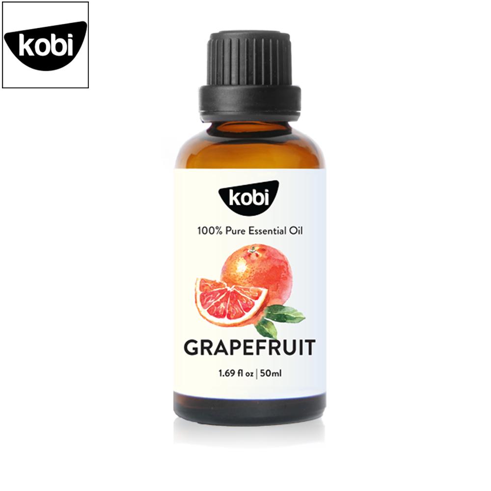 Tinh dầu bưởi Kobi grapefruit essential oil nguyên chất giúp kích thích mọc tóc, giảm rụng tóc, xông phòng hiệu quả