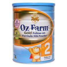 sữa oz farm số 2 lọ 900g của úc tăng cân phát triển toàn diện cả chiều cao và trí não hạn 11/2020