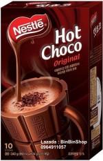 Bột Cacao Nestle Hot Choco hộp 240gram (10 gói x 24gram)