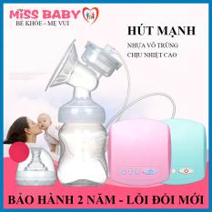 Máy hút sữa điện đơn Miss Baby 9 cấp đô vừa massage vừa kích hút sữa- Thiết kế nhỏ gọn, tháo lắp dễ dàng – Chất liệu cao cấp an toàn tuyệt đối ( Có kèm video hướng dẫn sử dụng)