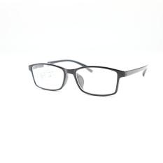 Kính cận thời trang Wide Vision 6016 từ -0.50 đến – 8.00 độ màu đen bóng- kính đã có độ