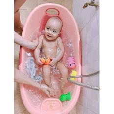Thau tắm em bé Việt Nhật (giao màu ngẫu nhiên)