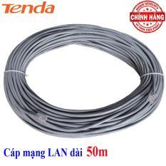 Dây cáp mạng LAN Internet bấm sẵn TENDA FTP-1002E chống nhiễu dài 50m chuẩn cat 5e – tiếp KingMaster
