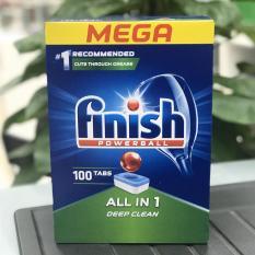 Viên rửa bát Finish All in 1 – 100 viên/ hộp