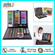 Hộp bút 150 món đầy đủ màu sắc, cho bé yêu thỏa sức sáng tạo