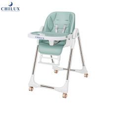 Ghế ăn dặm đa năng cho bé Chilux Grow S , đa nấc ngã, nâng hạ độ cao dễ dàng, bảo hành 2 năm