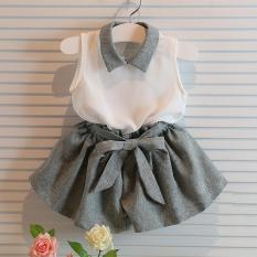 sét bộ đồ bé gái size 2-6 tuổi voan mát