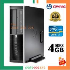 Cây máy tính để bàn HP 6200 Pro Sff (CPU i3 2100, Ram 4GB, HDD 320GB, DVD) – Hàng Nhập Khẩu