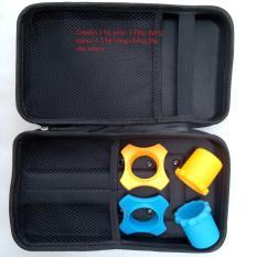 Combo 1 bộ gồm: 1 Hộp đựng micro + 2 bộ vòng chống lăn cho micro