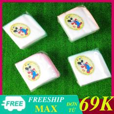 10 cái khăn sữa 4 lớp Fany dành cho bé trai và gái , khăn gạc nhật Kim Ngân(Fany)