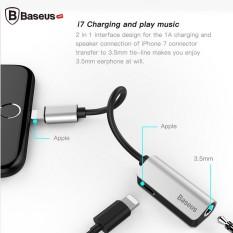 Jack chuyển đổi Cáp chuyển đổi âm thanh Baseus L32 Audio 3.5mm + Lightning cho iPhone 7/ 8/ iPhone X /iphone 11pro