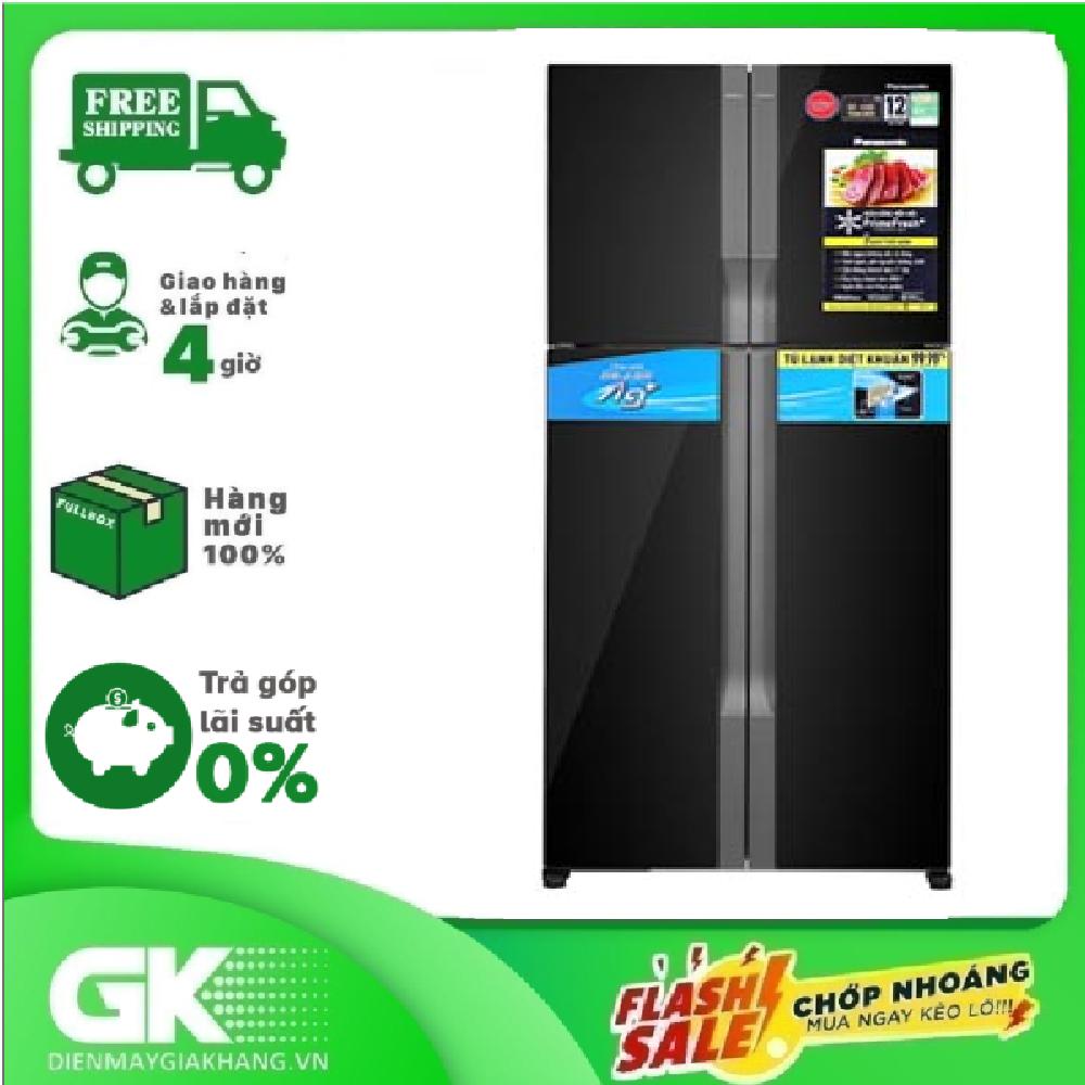 [GIAO HÀNG 2 – 15 NGÀY, TRỄ NHẤT 30.09] Tủ lạnh Panasonic 550 lít NR-DZ601VGKV