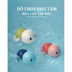 Đồ chơi nhà tắm Rùa con tập bơi
