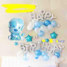 Trang trí sinh nhật bé cún