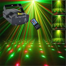Đèn Chiếu Laser Vũ Trường Cảm Biến Âm Thanh. Đèn Chiếu Sao Trang Trí Mini Laser Stage Lighting. Đèn chiếu Laze mini trang trí sân khấu/ vũ trường, quán caffe, nhà hàng