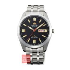 Đồng hồ nam dây thép Orient 3 sao RA-AB0017B19B