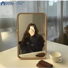 Gương Để Bàn OCHU Khung Gỗ – Mini Mirror – Natural