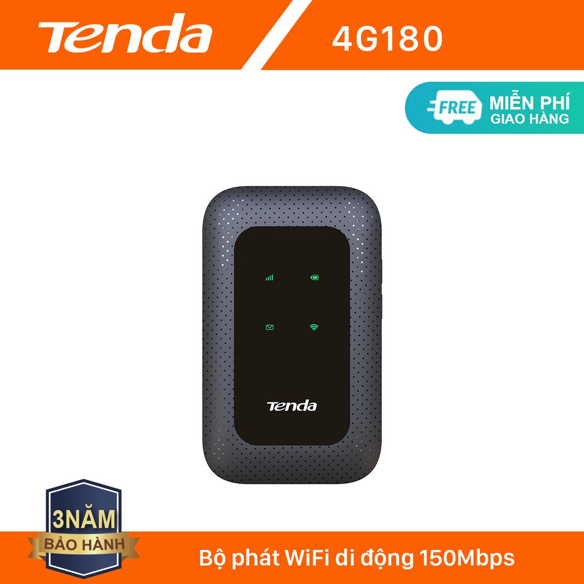 Tenda Bộ phát Wifi di động 4G LTE 4G180 – Hãng phân phối chính thức