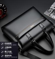 Túi xách da công sở cao cấp T03 đựng hồ sơ, tài liệu, giáo án, laptop (KT38x28x6cm, Màu: Nâu, Đen), bảo hành da 12 tháng