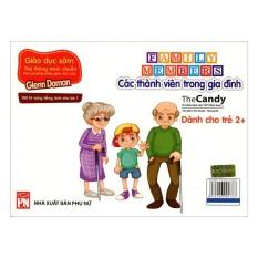 Flashcard Dạy Trẻ Theo Phương Pháp Glenn Doman – Các Thành Viên Trong Gia Đình (Giao Mẫu Ngẫu Nhiên)