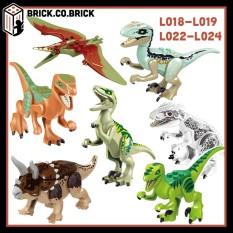 L018 L019 L022 L024 L028 L029 – Đồ chơi mini figure khủng long bạo chúa Jurrasic World Khủng long đồ chơi lắp ráp