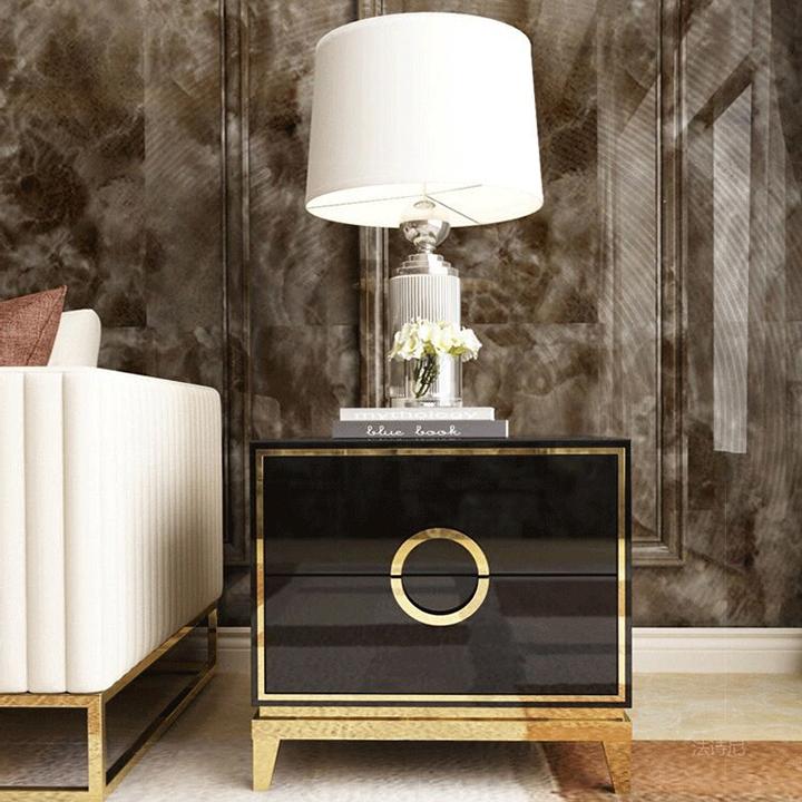 Táp đầu giường hiện đại Tủ táp đầu giường gỗ cao cấp PUK016