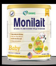 Sữa Monilait Baby 380g – dành cho bé 0 – 12 tháng tuổi