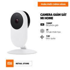 [Hàng chính hãng] Camera giám sát Xiaomi Basic Full HD 1080 – Phạm vi hồng ngoại 10m – Ống kính góc quay rộng 130 độ – Hỗ trợ thẻ nhớ tối đa 64GB