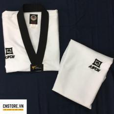 Quần Áo Võ – Võ Phục Taekwondo Cổ Đen Kwon Vải Kim Cương