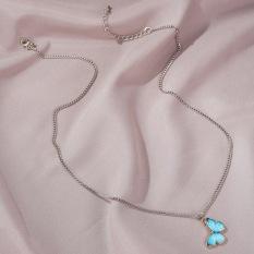 Dây chuyền | Dây chuyền bạc | Dây chuyền bạc nữ | Dây chuyền nữ thiết kế hình con bướm XB-DB46 – Bảo Ngọc Jewelry
