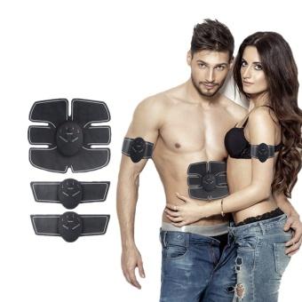 1 Set Wireless Muscle Stimulator EMS Stimulation Body Slimming Beauty Machine Abdominal Muscle Exerciser Training Device Body Massager - intl