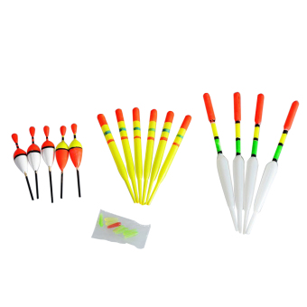 15pcs Floats Rubbers Fishing Lures - intl