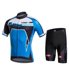 2016 Fastcute Brand Summer Quick Dry Short sleeve Top and Shorts Cycling jersey Bycicle Bike Breathable Wear Set FC-0306 - intl