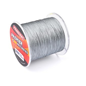 300M Durable Fishing Line PE Four Strand Braid Fish-line Grey2.0/25LB - intl