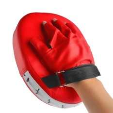 360DSC Boxing Mitt Training Target Punch Pad Glove Red – intl