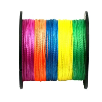4 Strands Super Strong Durable PE Braided Fishing Line 500M Colour 2.5 - intl
