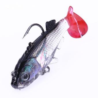 8g mô phỏng Lure bắt cá với Treble Hooks + Một Hook
