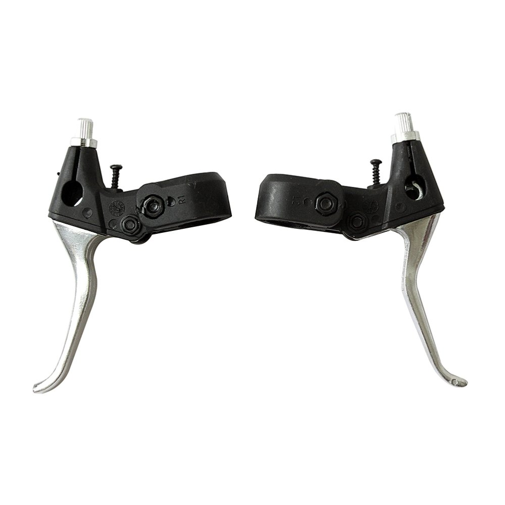 ALLOY BMX/MOUNTAIN BIKE CYCLE PAIR ALLOY BRAKE LEVERS 3 FINGER BICYCLE lever - intl